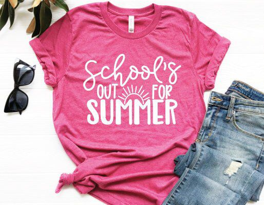 School's Out for Summer Tshirt AS30JN0