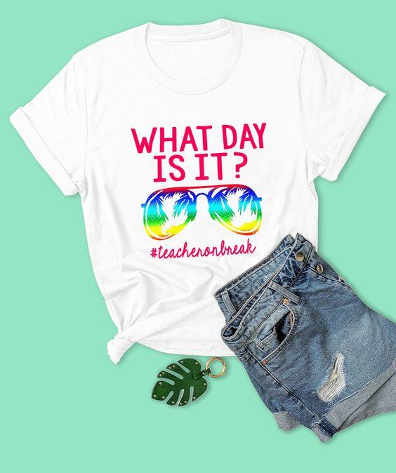Summer Teacher Day T-Shirt AN18JL0