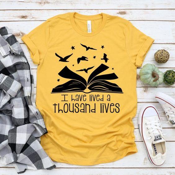Thousand Lives T-Shirt AN18JL0