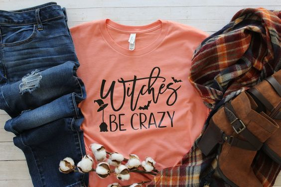 Witches Be Crazy Shirt ZR8JL0