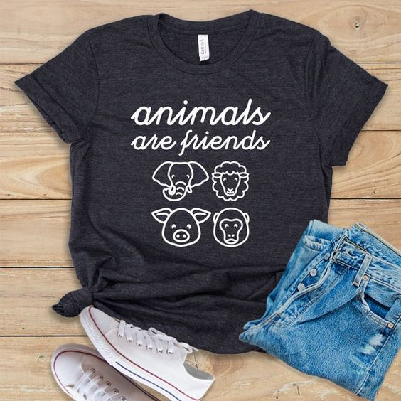 Animals Are Friends Tshirt TY4AG0