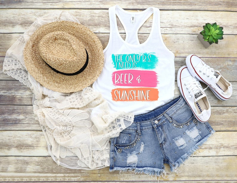 Beer and Sunshine Tanktop TU26AG0
