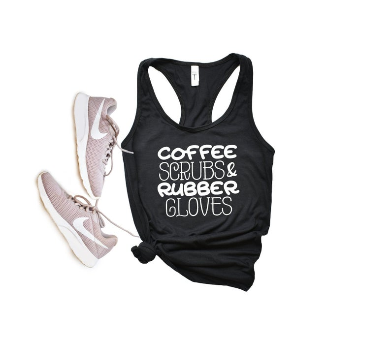 Coffee Scrubs Tanktop TU26AG0