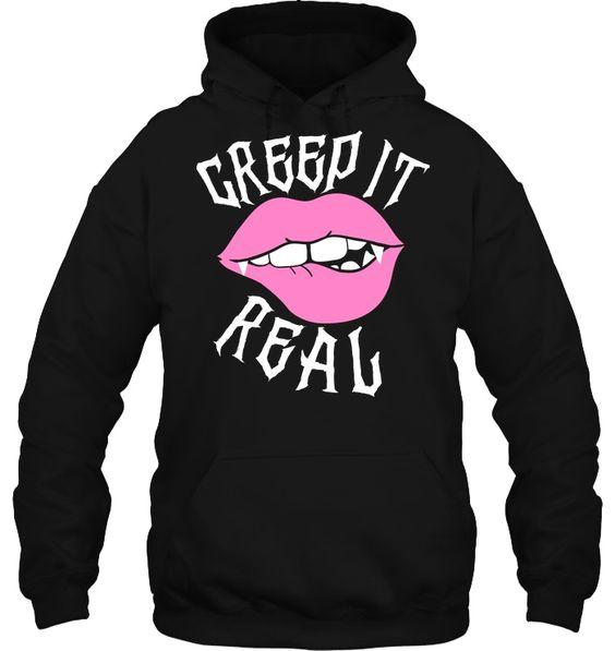 Creep it Real Hoodie AS15AG0