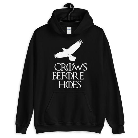 Crows Before Hoes Hoodie AS15AG0
