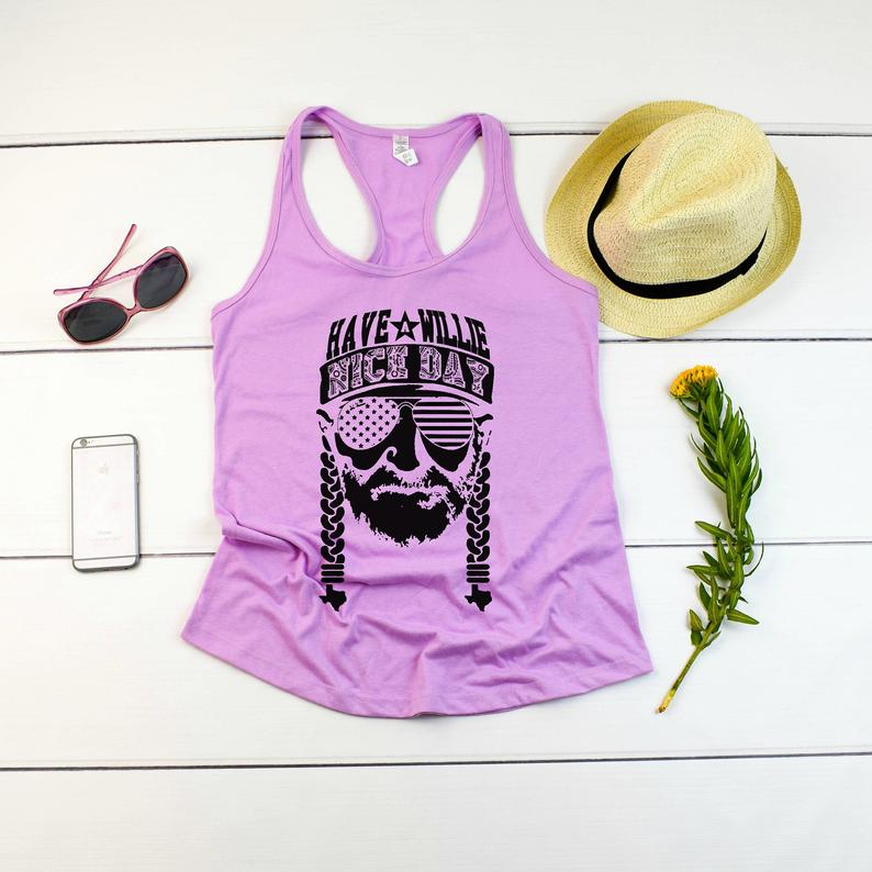Have a Willie Nice Day Tanktop TU26AG0