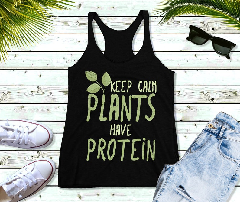 Keep Calm Plants Tanktop TU26AG0