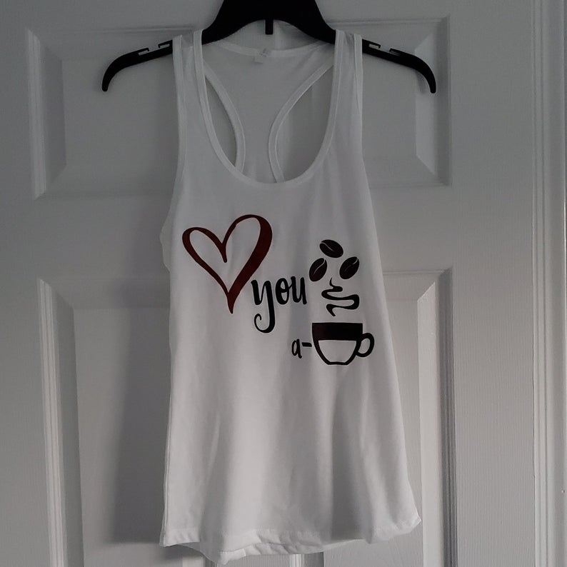 Latte Love tank top TU26AG0