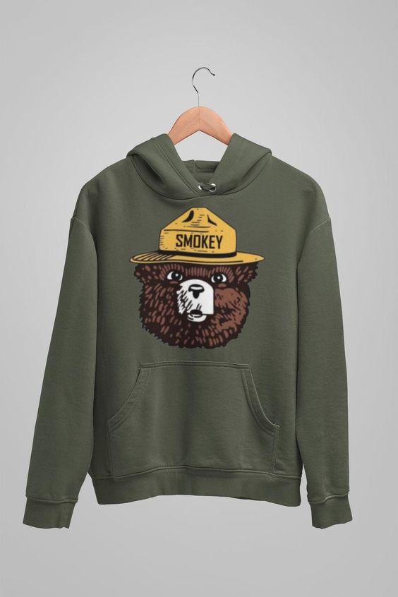 Smokey the Bear Hoodie AS15AG0