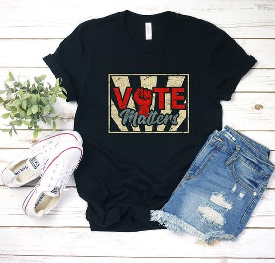 Vote Matters Shirt TY4AG0