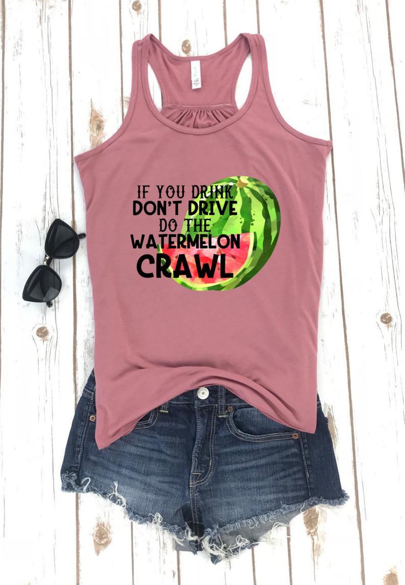 Watermelon Crawl Tanktop TU26AG0
