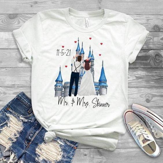 disney wedding Tshirt TY4AG0