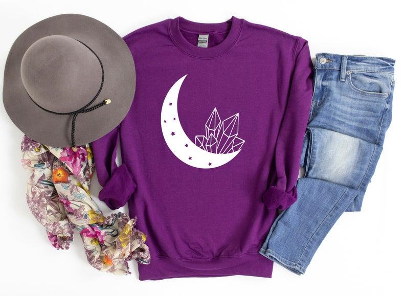 Crystal moon Sweatshirt TK4S0