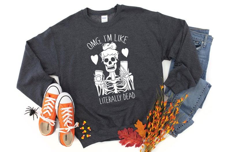Skeleton Sweatshirt TK4S0