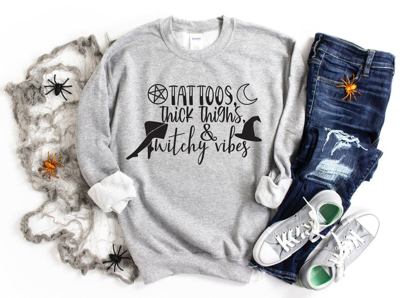 Tattoos thick thighs Sweatshirt TK4S0