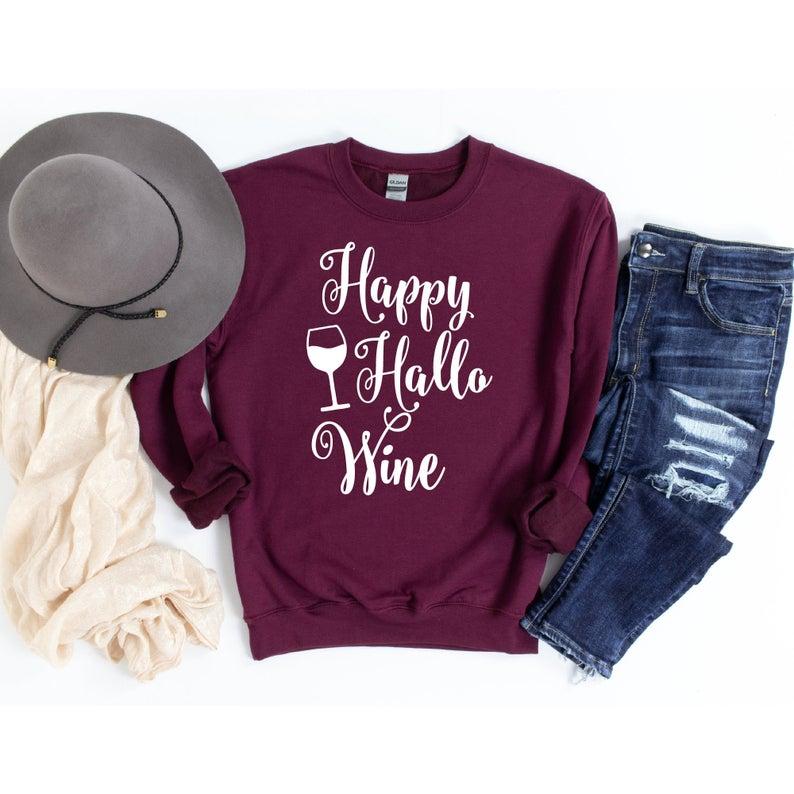 Wine Drinking Sweatshirt TK4S0