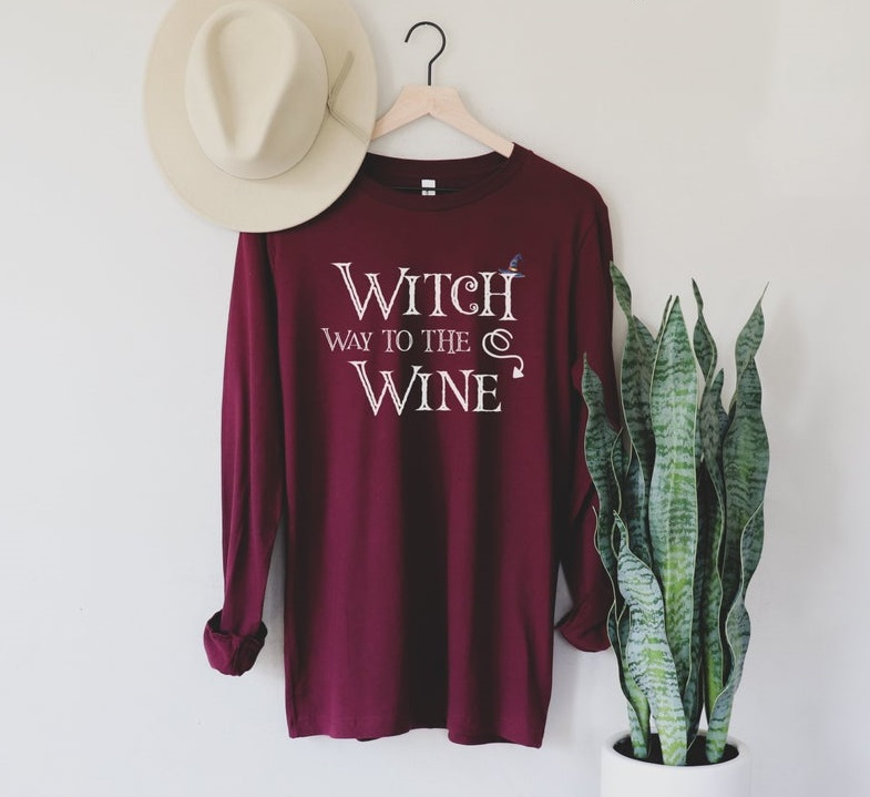 Witch Wine Sweatshirt TK4S0