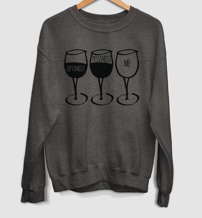 wine lover sweatshirt TK4S0