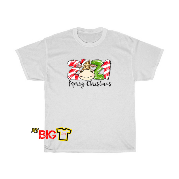 2021 Merry Christmas T shirt SR3D0