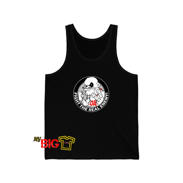 Fight The Real Enemy Tanktop SR24D0