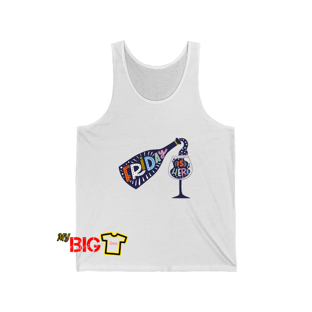 Friday Is Here Tanktop SR12D0