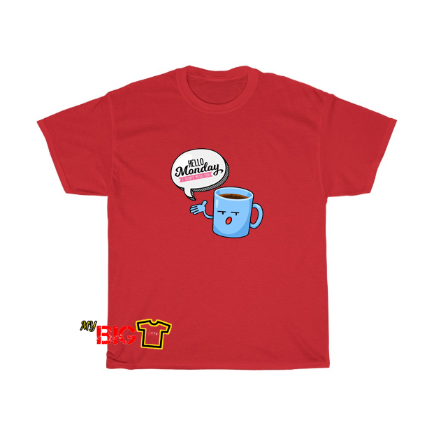 Hello Monday Tshirt SR10D0
