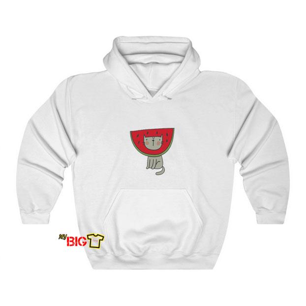 Cat Watermelon hoodie SY9JN1