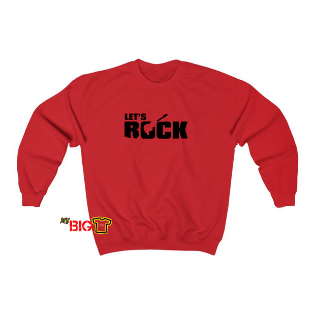 Let's Rock sweatshirt SY11JN1