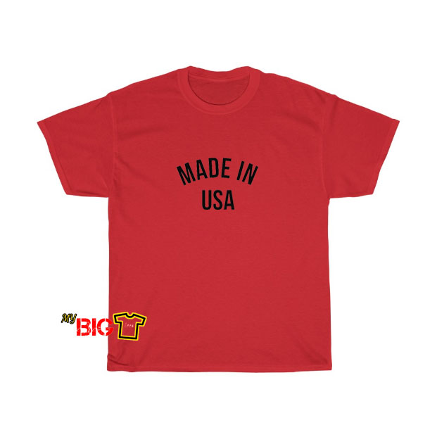 Made In USA T-shirt SY11JN1