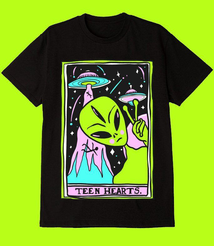 Alien Invasion T-Shirt AL5F1