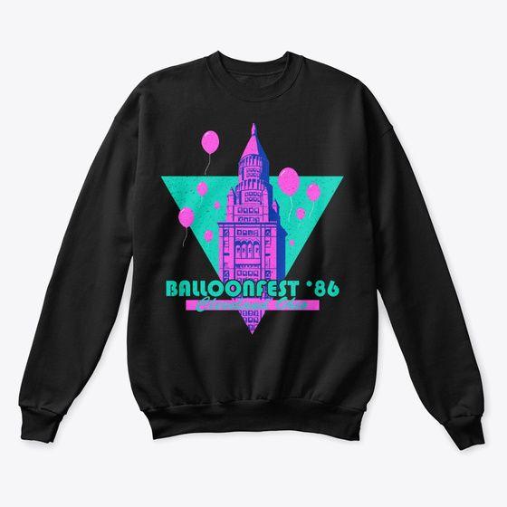 Balloonfest '86 Vintage Sweatshirt EL17F1