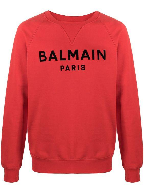Balmain paris sweatshirt TJ18F1