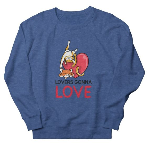 Lovers Gonna Love Sweatshirt EL23F1