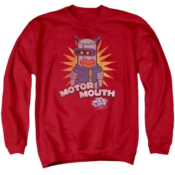 Motor Mouth Sweatshirt EL1F1