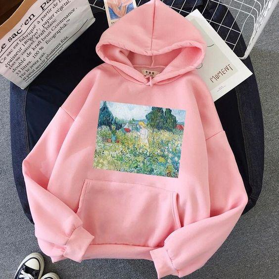 Vintage hoodie sm16f1