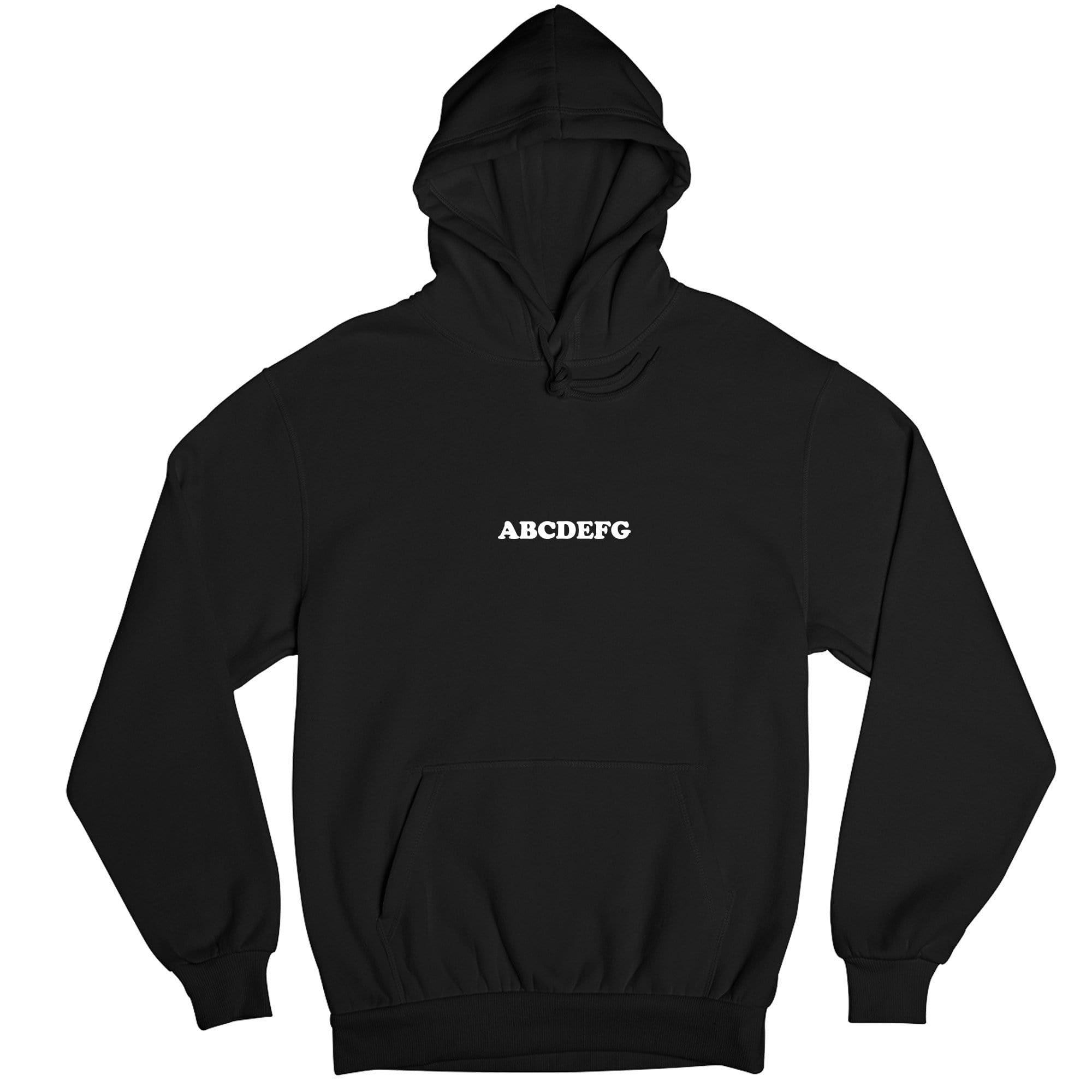 ABCDEFG Hoodie AL25MA1