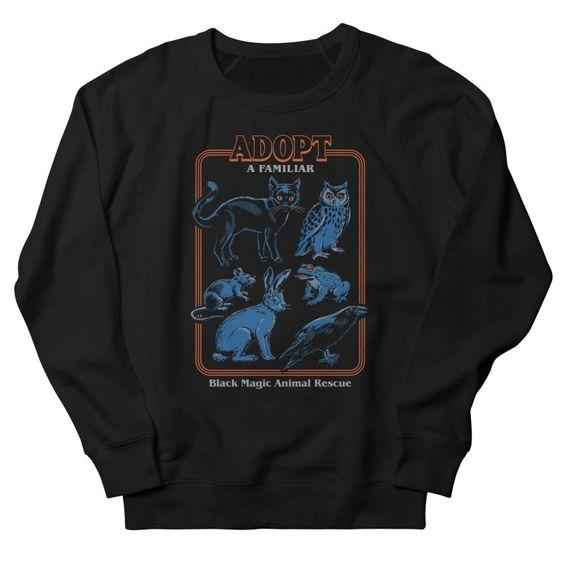 Adopt a Familiar Sweatshirt UL31MA1