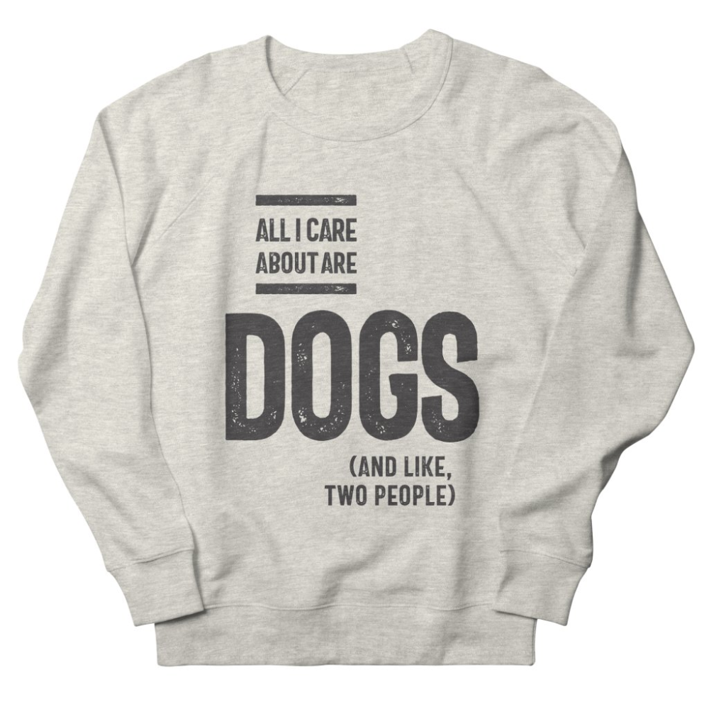 All I Care About Sweatshirt AL25MA1