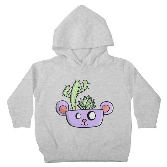 Bear The Cactus Hoodie SD30MA1
