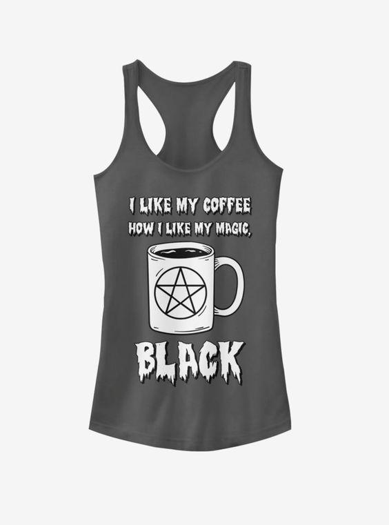 Black Coffee Tanktop UL31MA1