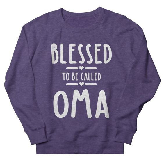 Blessed To Be Sweatshirt SD1M1