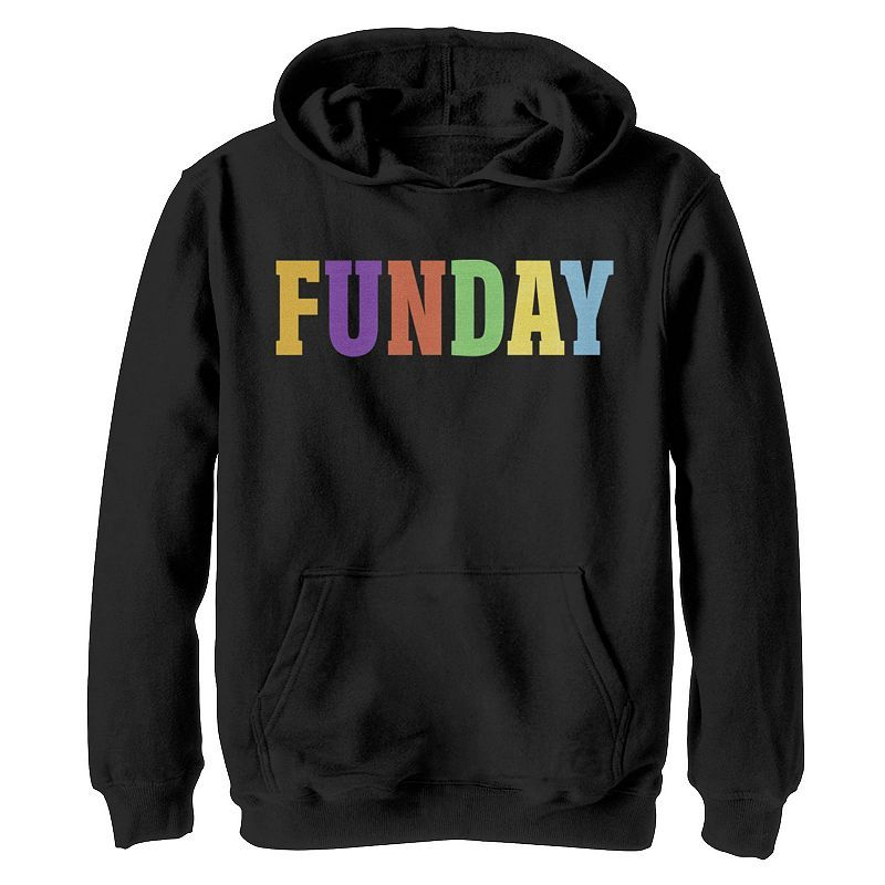 Funday Letters Graphic Hoodie AL29MA1