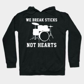 Break Stick Not Hearts Hoodie PU12MA1