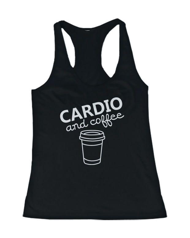 Cardio And Coffee Tanktop AL5MA1