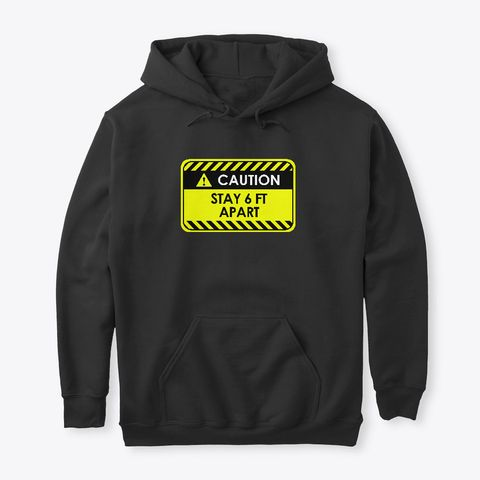Caution Stay Hoodie GN24MA1