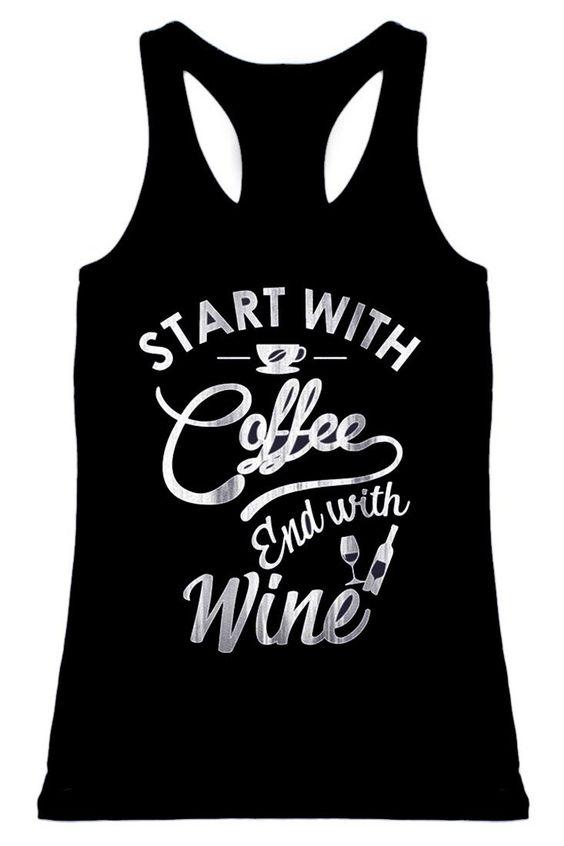 Coffee & Wine Tanktop SD30MA1