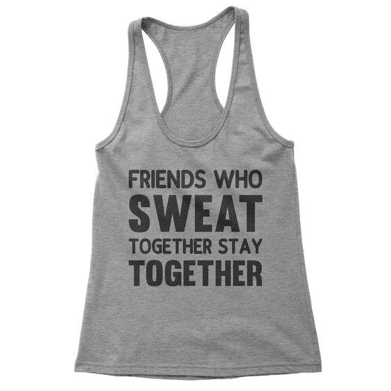 Friends Who Sweat Sweatshirt SD6MA1