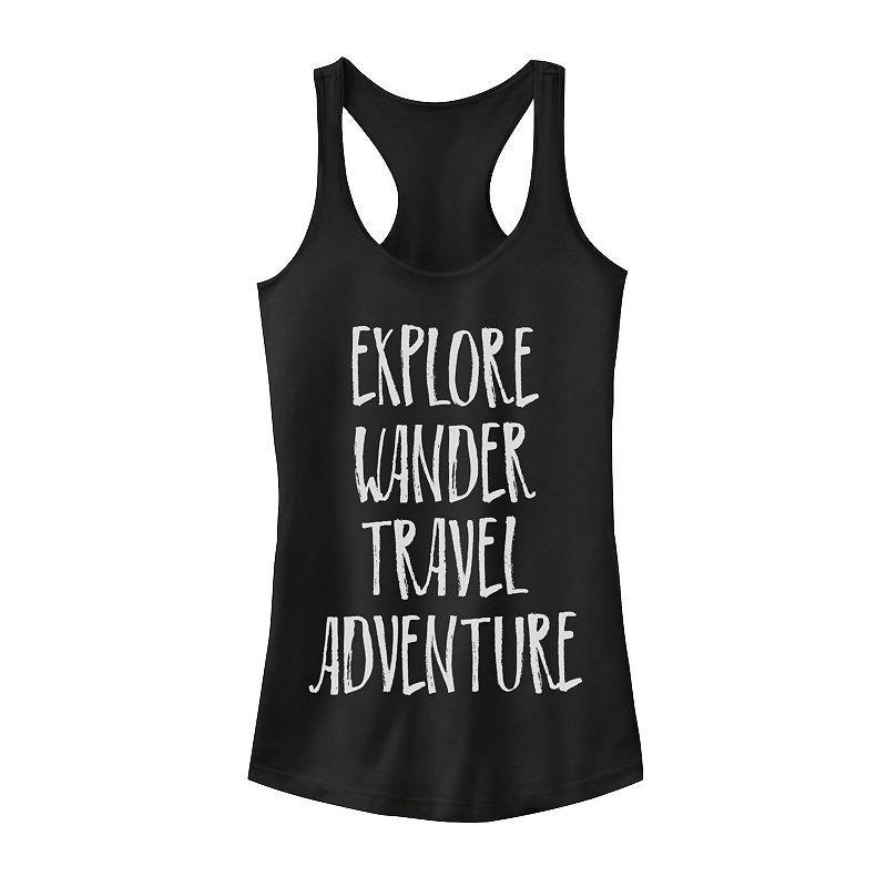 Explore Wander Travel Adventure Tanktop AL29MA1