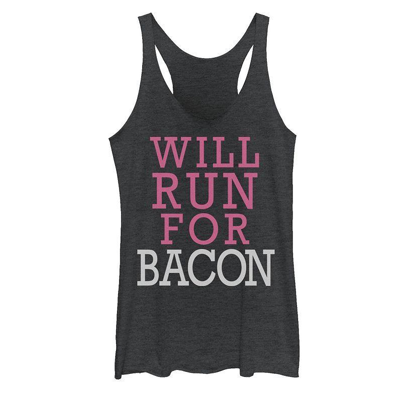 Will Run For Bacon Tanktop AL25MA1