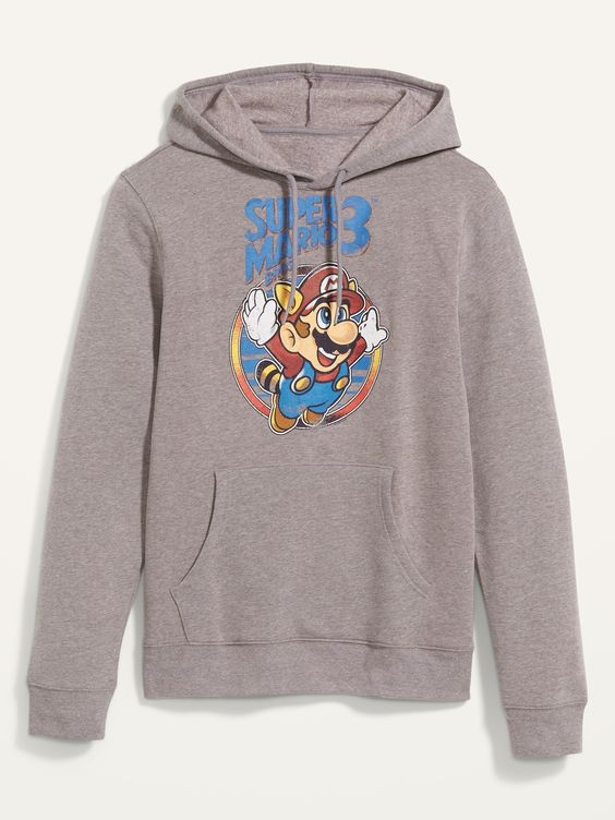 Super Mario Bros Hoodie FA8MA1